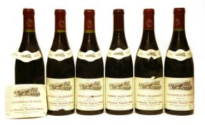 Assorted Red Burgundy, Domaine Taupenot-Merme, 1996, six bottles in total