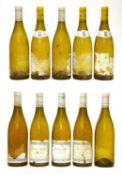 Montagny 1er Cru, Olivier Leflaive, unknown vintage, 3 bottles and 7 other bottles