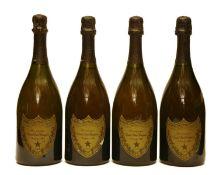 Dom Pérignon, Epernay, 1985, four bottles