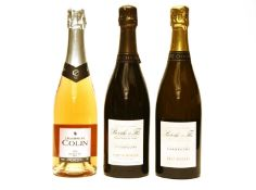 Assorted non-vintage champagne to include: Bérêche & Fils, two bottles and one other