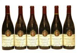 Santenay, Labouré Roi, 2000, six bottles