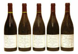 Côte Chalonnaise, La Digoine, A. et P. de Villaine, 1996, five bottles