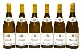 Meursault, Olivier Leflaive, 2013, six bottles