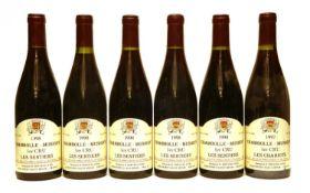 Domaine B. Serveau et Fils, Les Chabiots, 1997, one bottle and Les Sentiers, five bottles