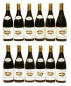 Pommard, 1er Cru, Chanlains, Domaine Bernard Delagrange, 1995 and 1999, twelve bottles in total