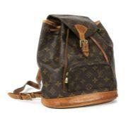 A Louis Vuitton monogrammed canvas 'Montsouris' backpack,