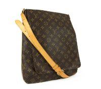 A Louis Vuitton monogrammed canvas 'Musette' shoulder bag,