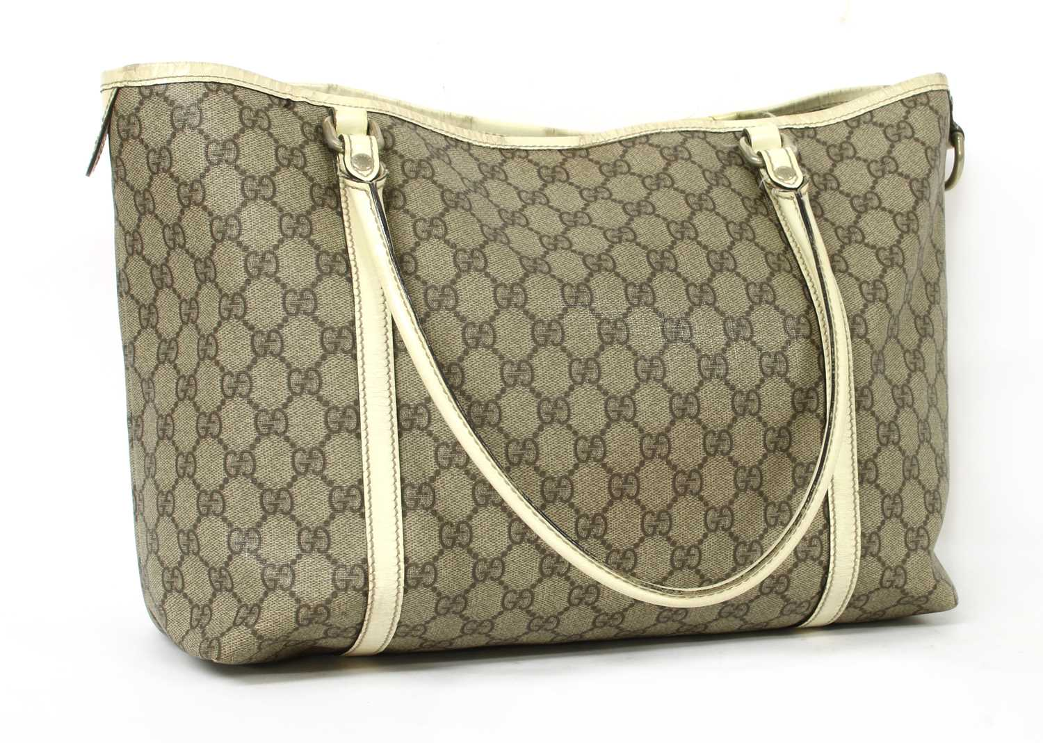 A Gucci beige coated canvas 'Joy' tote,