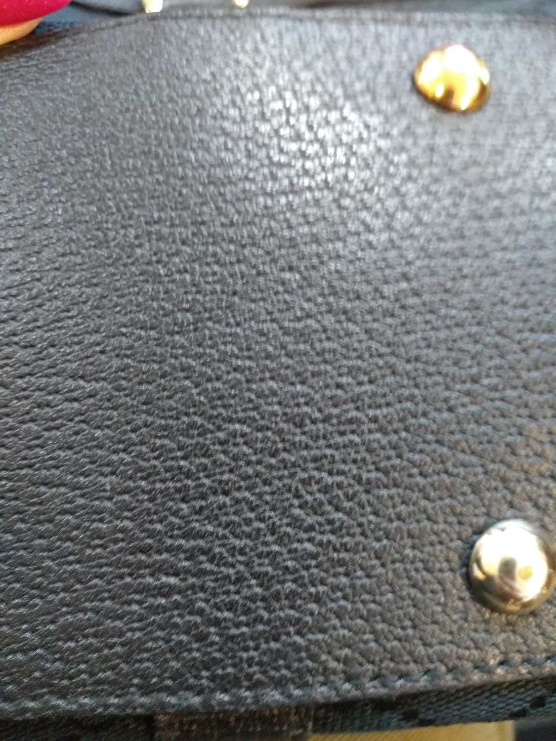 A Gucci black monogrammed canvas medium 'Abbey' tote, - Image 6 of 7