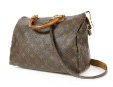 A Louis Vuitton monogrammed canvas 'Speedy 30' bag,