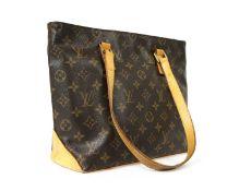 Louis Vuitton monogrammed canvas 'Cabas Piano' shoulder bag,