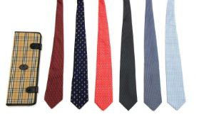 A collection of six ties