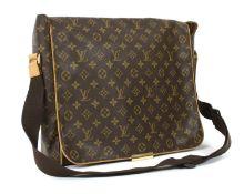 A Louis Vuitton monogrammed canvas 'Abbesses' shoulder bag