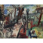 GEN PAUL (1895-1975) - LE BOULODROME, CHEZ LA MÈRE PAILLE À MONTMARTRE, - VERS [...]