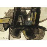 MAURICE ESTÈVE (1904-2001) - SANS TITRE, 1965 - Fusain et crayons de couleur sur [...]