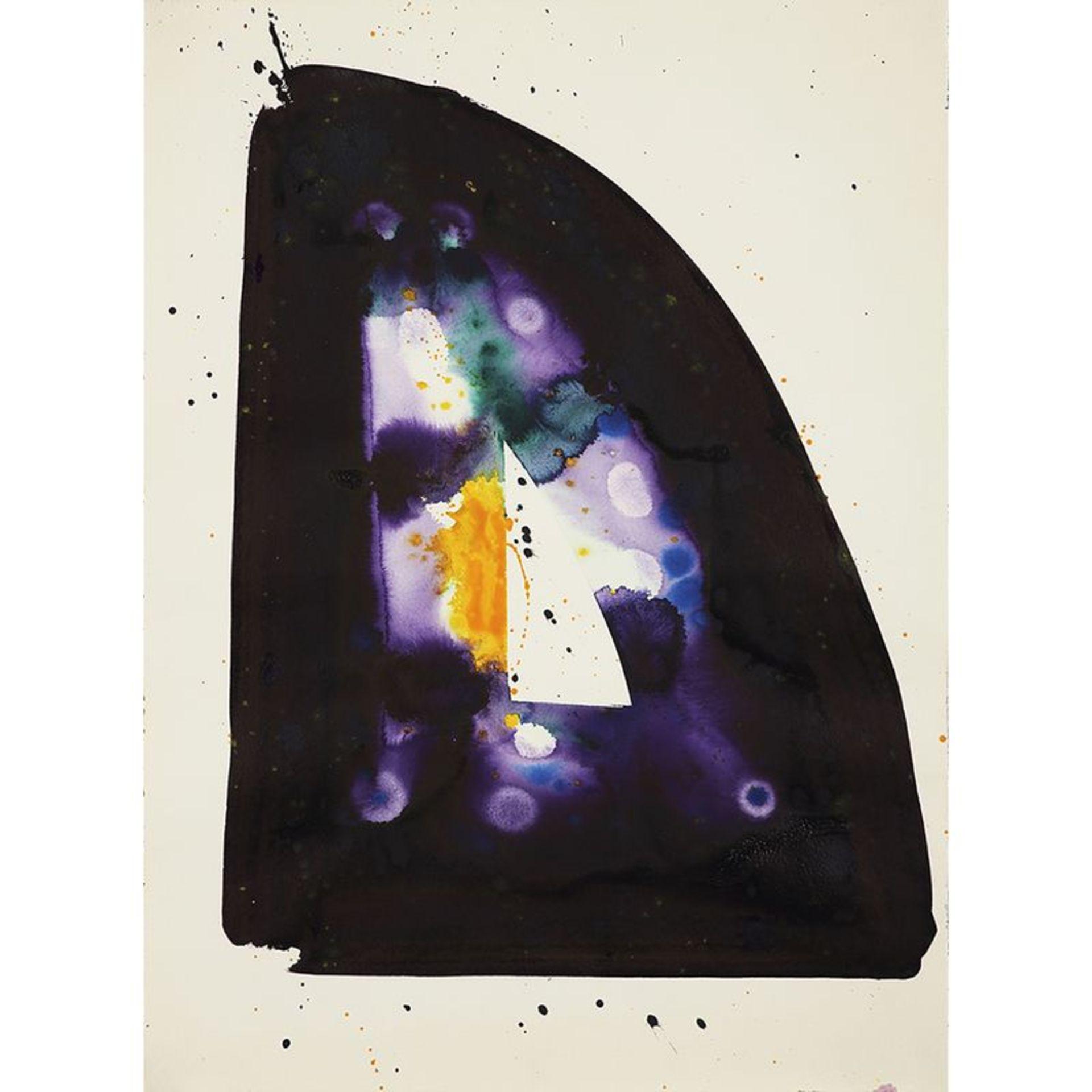 Sam Francis (1923-1994) - Sans titre (SF74-242), 1974 - Acrylique sur papier - [...]