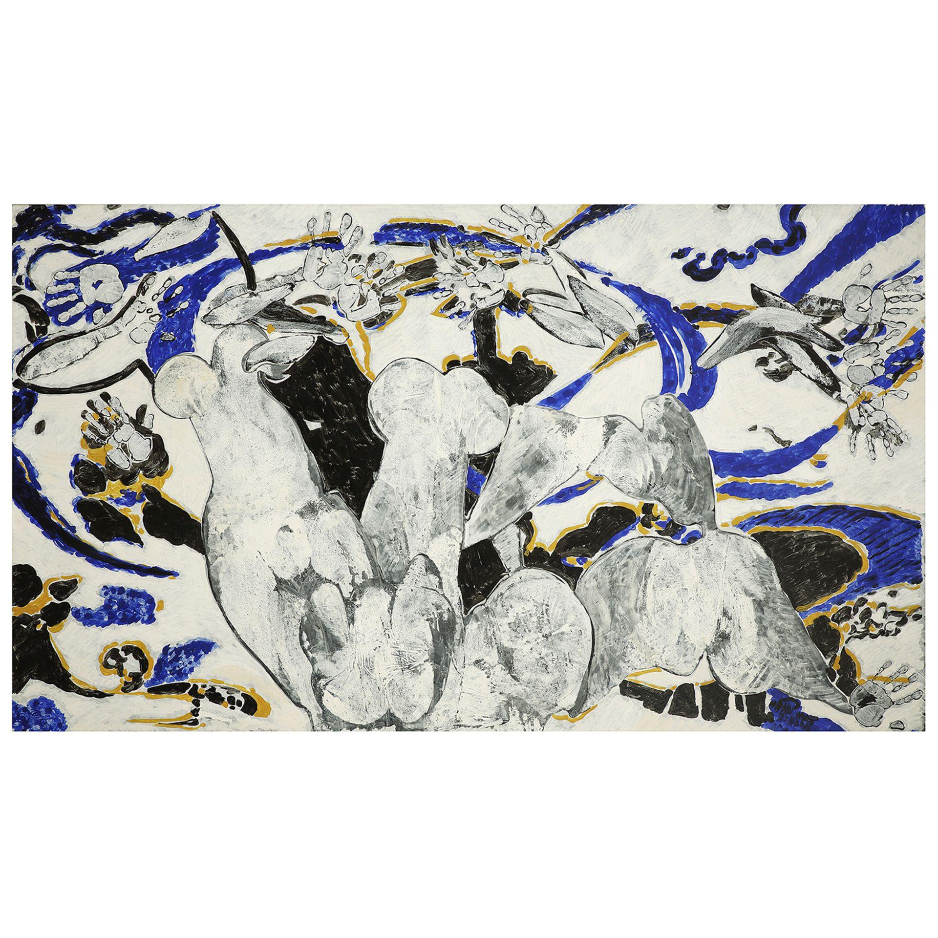 FRANÇOIS ROUAN (né en 1943) - Sans titre, 1995 - Deux peintures à la cire sur [...] - Image 5 of 5