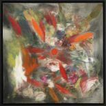 Ross Bleckner (né en 1949) - SANS TITRE, 2011 - Huile sur toile - Signé et daté [...]
