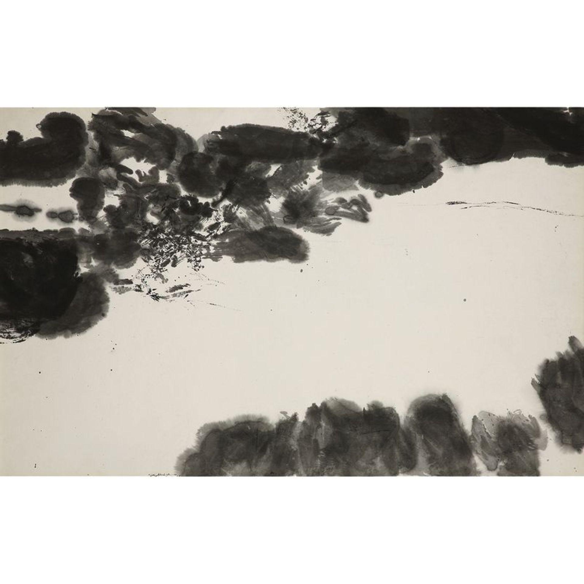ZAO WOU-KI (1920-2013) - SANS TITRE, 1978 - Encre sur papier - Signé et daté 78 [...]