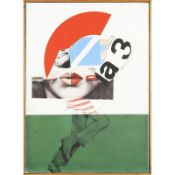 PETER KLASEN (né en 1935) - LES SPORTIVES, 1966 - Acrylique sur toile - Signé et [...]