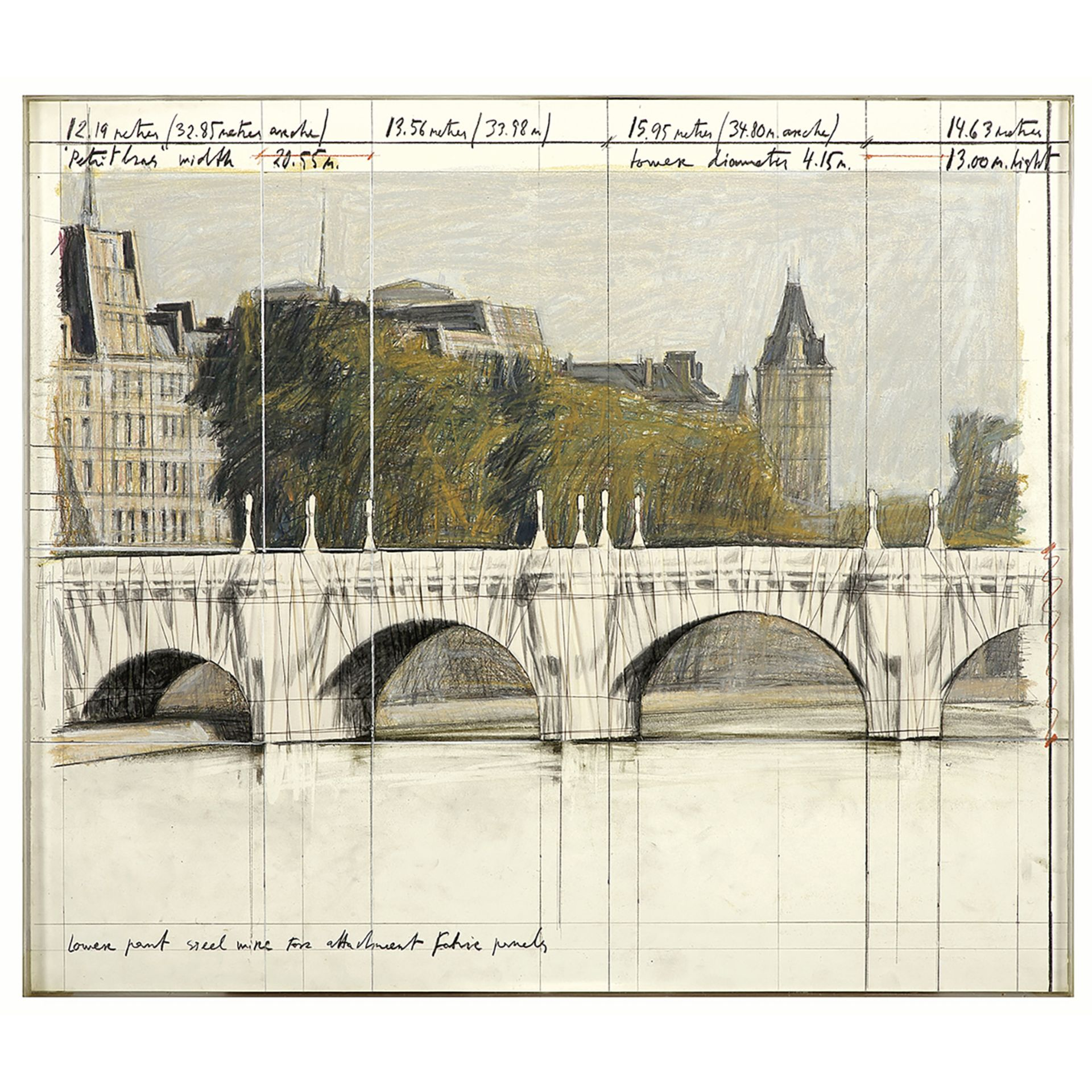CHRISTO (1935-2020) et JEANNE-CLAUDE (1935-2008) - The Pont Neuf, Wrapped (Project [...] - Image 4 of 5