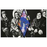 BERNARD RANCILLAC (né en 1931) - LES VIEILLES DE GROZNY 95, 2011-2017 - Acrylique [...]