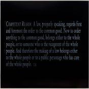 Joseph Kosuth (né en 1945) - Lex and Ligare (IVc), 2002 - Sérigraphie sur verre [...]