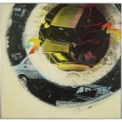 GIANNI BERTINI (1922-2010) - LA MOTORISATION, 1972 - Technique mixte sur toile - [...]