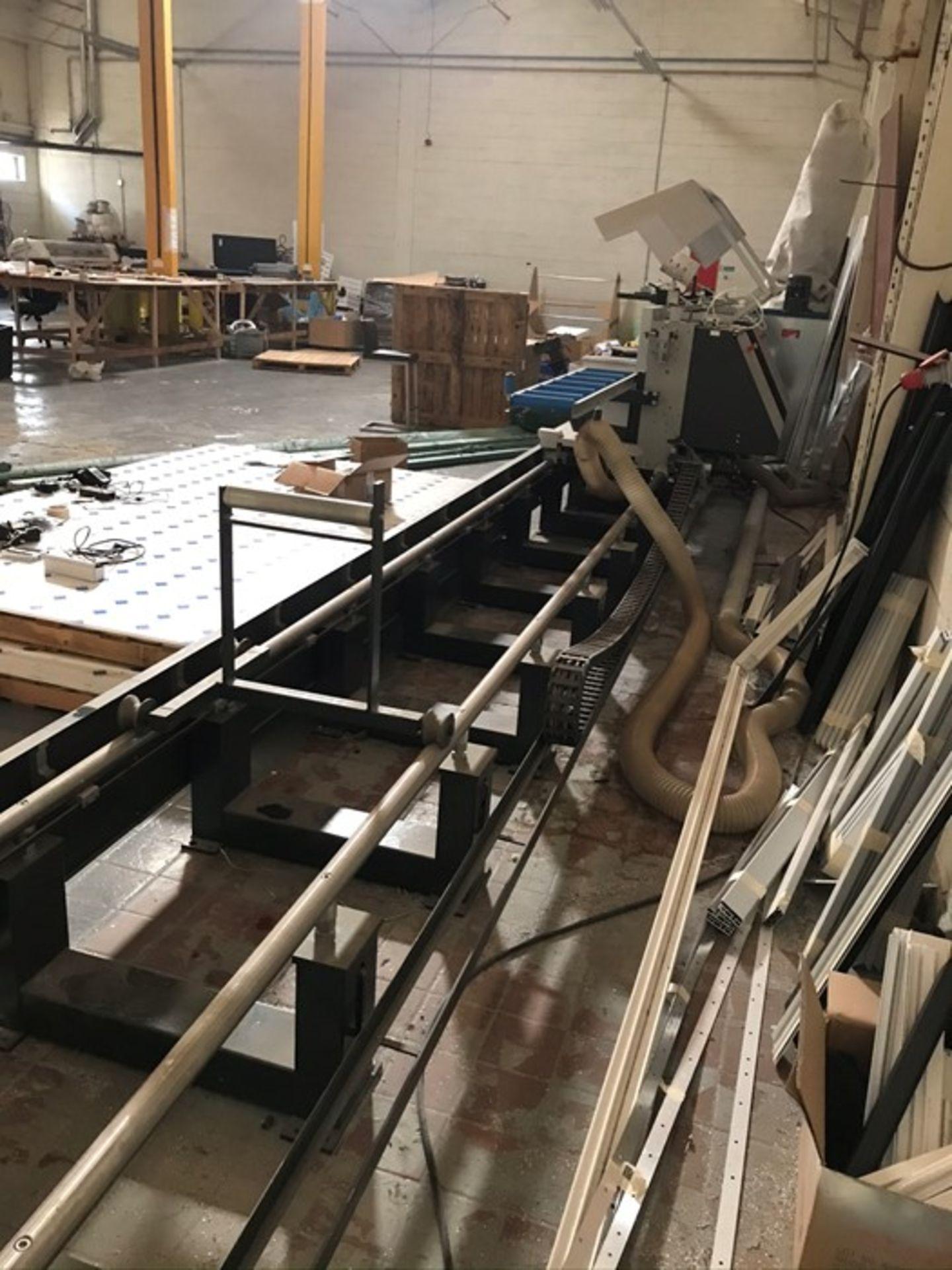 Elumatec DG104 / E355 6m double mitre saw (2015) - Image 8 of 12