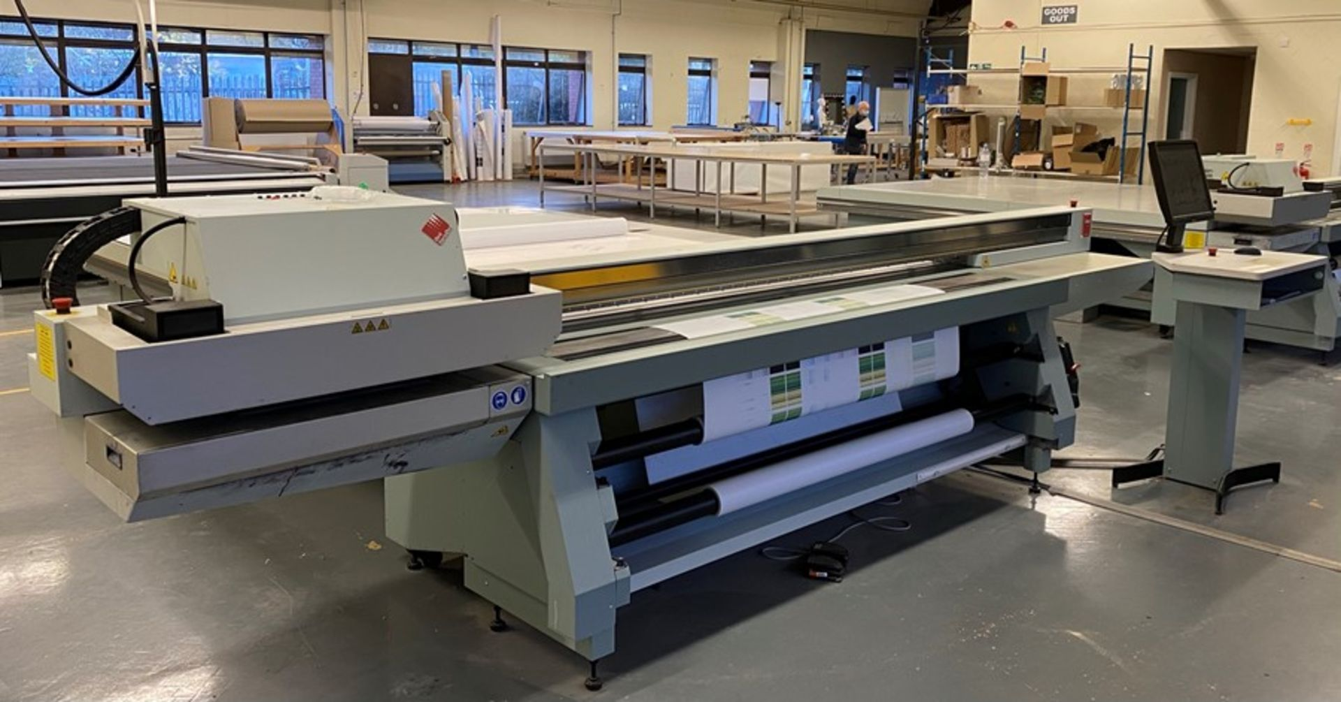 Oce Arizona 660 XT UV flatbed printer (2015) - Image 19 of 22