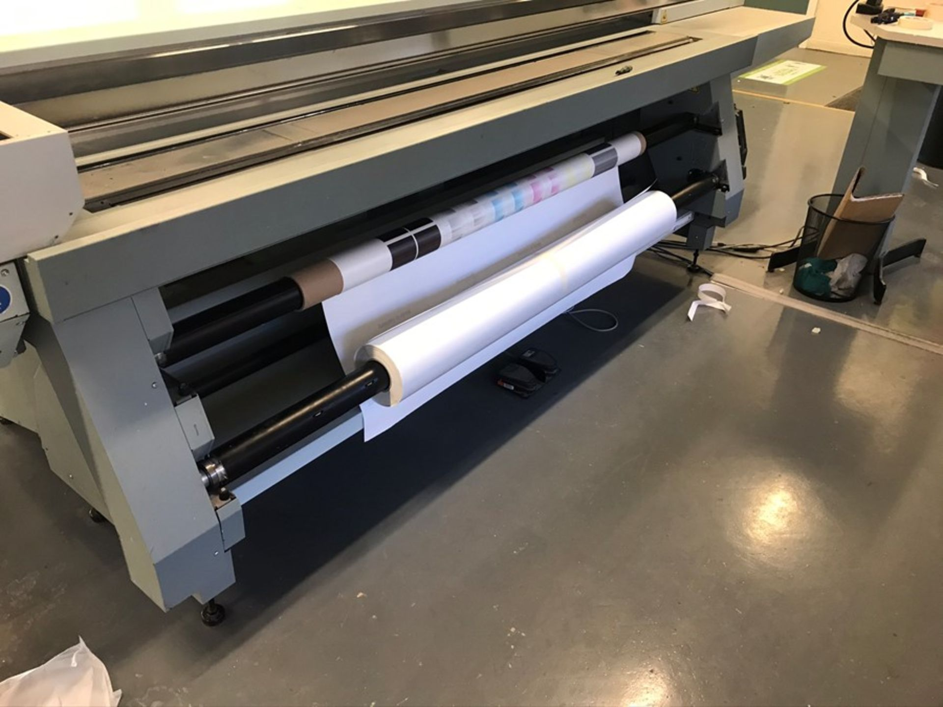 Oce Arizona 550XT + WIO UV flatbed printer (2013) - Image 14 of 22
