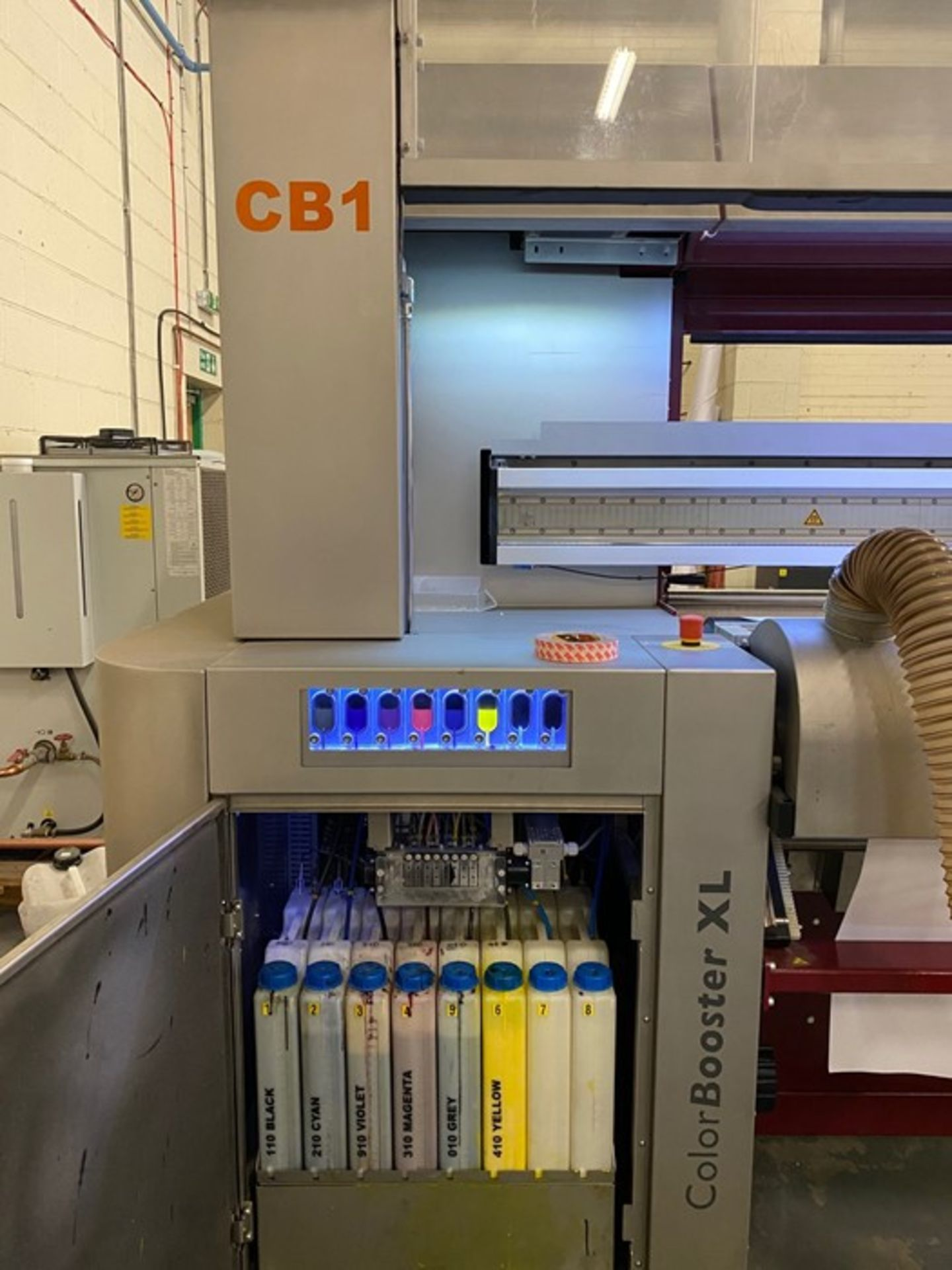 Hollanders Color Booster XL, Type B digital textile printer (2013) - Image 14 of 20