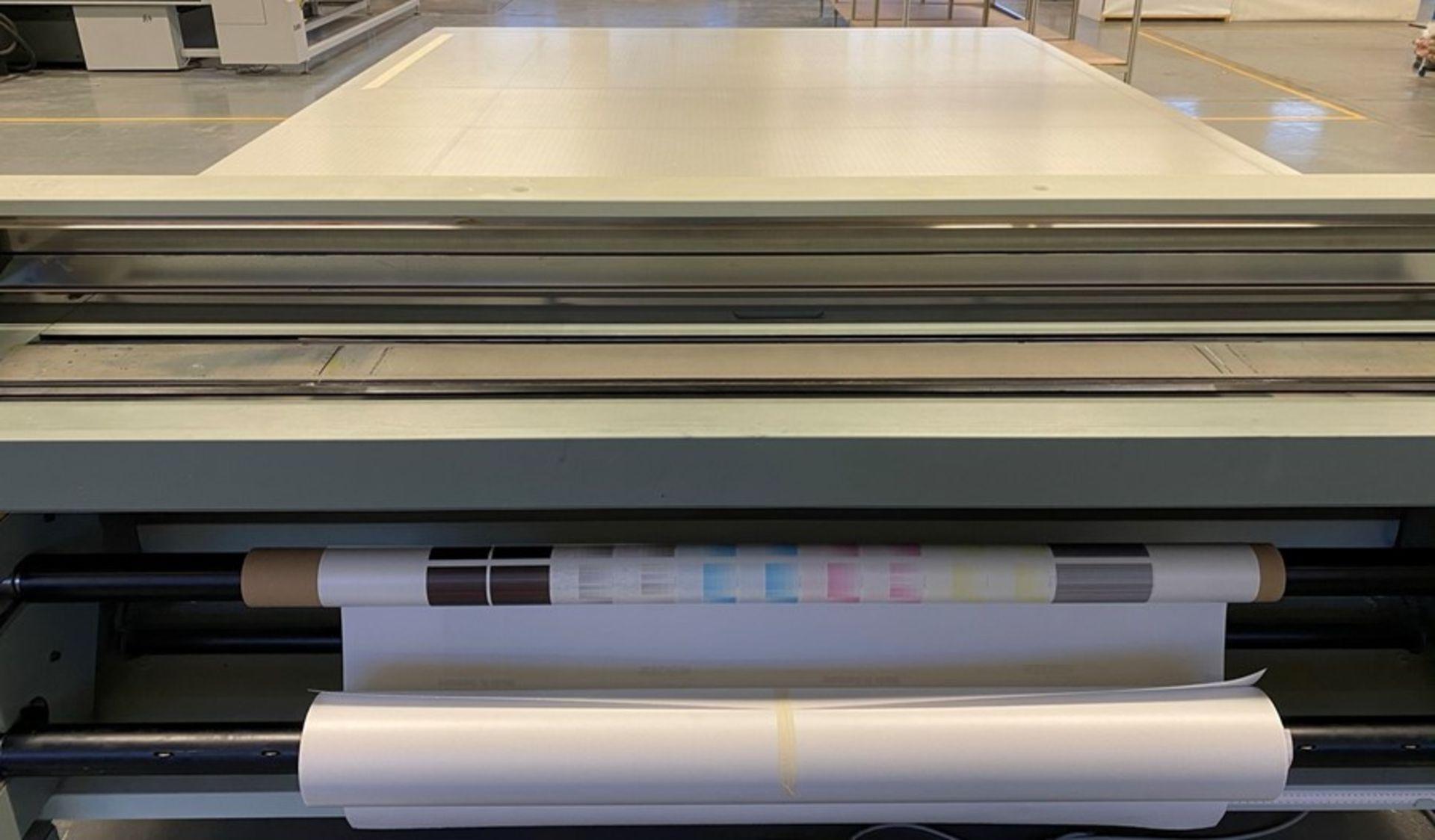 Oce Arizona 550XT + WIO UV flatbed printer (2013) - Image 21 of 22
