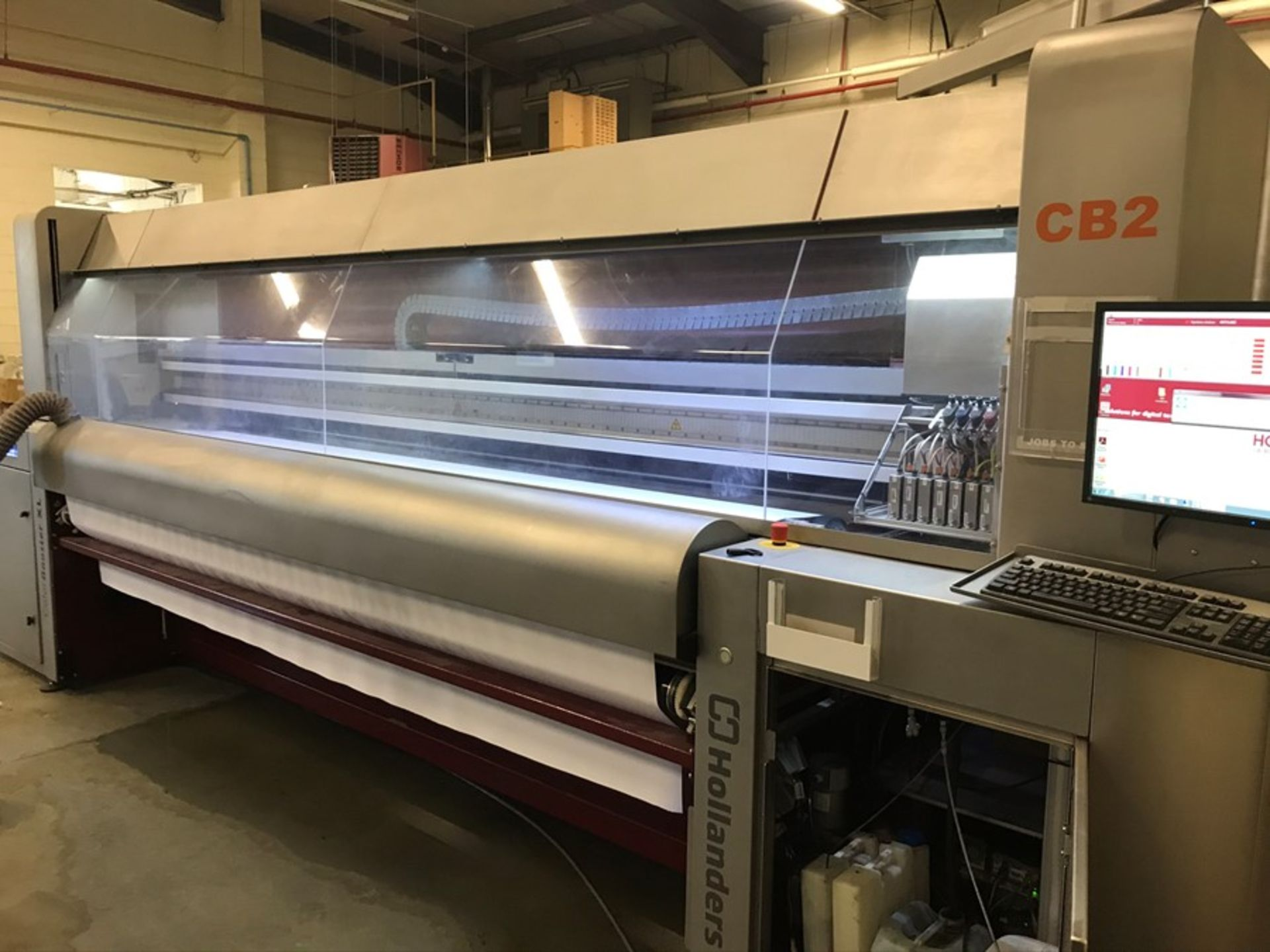 Hollanders Color Booster XL, Type B digital textile printer (2013) - Image 2 of 12