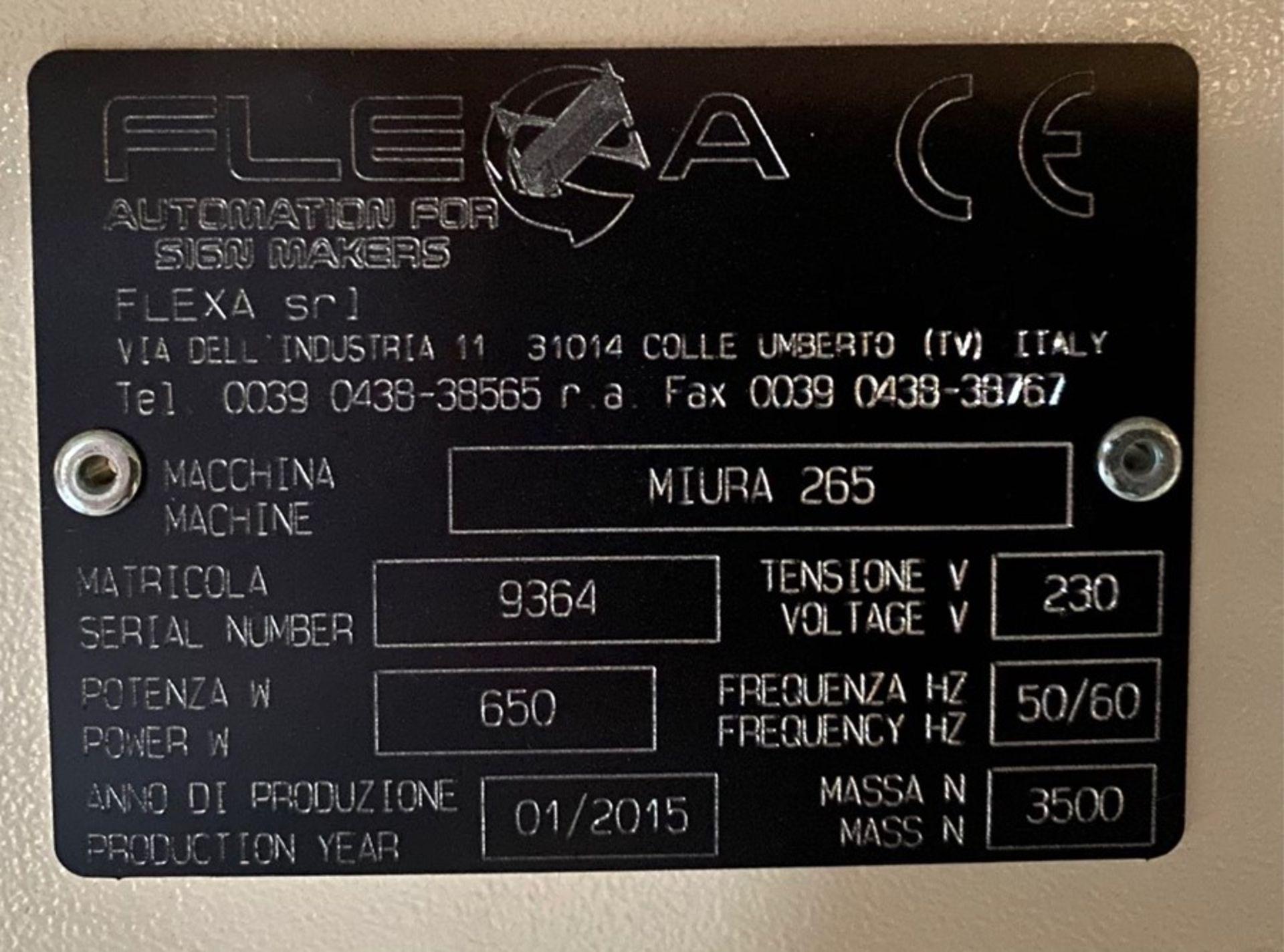 Flexa Miura II 265 X-Y Cutter (2015) - Image 5 of 5