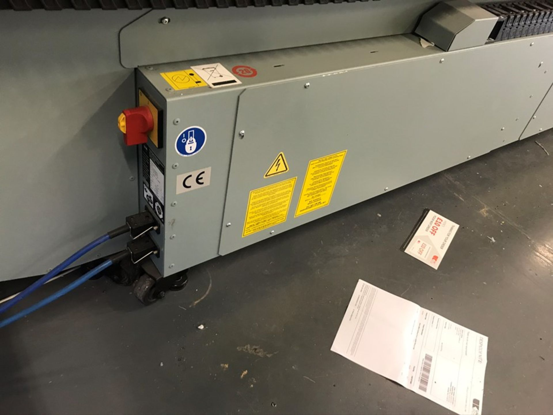 Oce Arizona 660 XT UV flatbed printer (2015) - Image 4 of 22