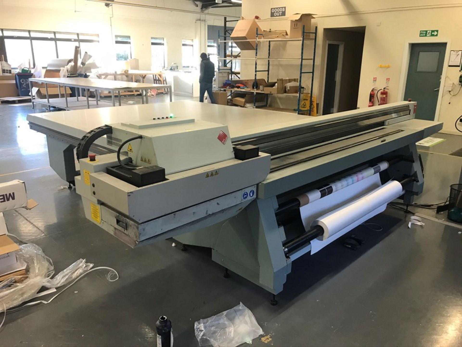 Oce Arizona 550XT + WIO UV flatbed printer (2013) - Image 2 of 22