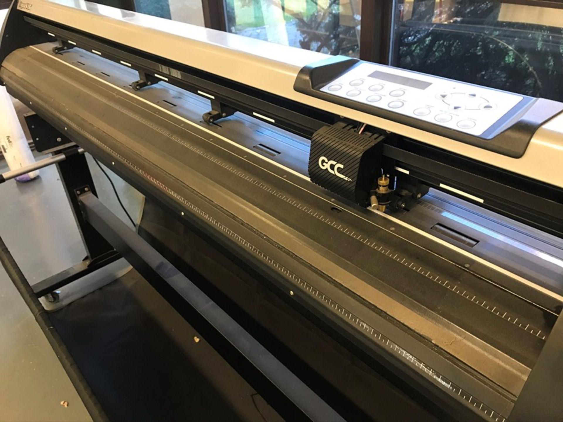 GCC Jaguar J5-12LX vinyl cutting plotter - Image 4 of 5