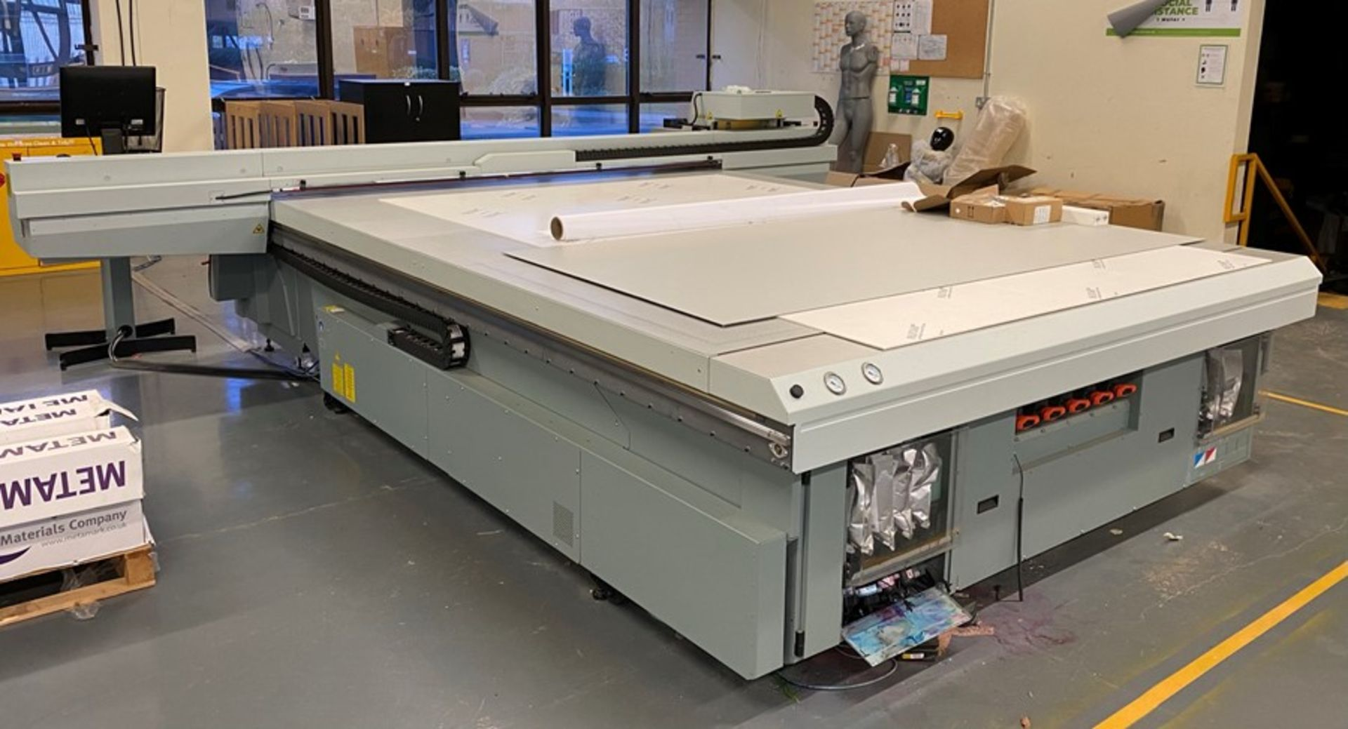 Oce Arizona 660 XT UV flatbed printer (2015) - Image 17 of 22