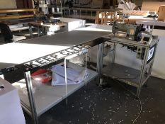 Matic Cronos Plus / Mitsubishi LT2-2230 industrial sewing machine