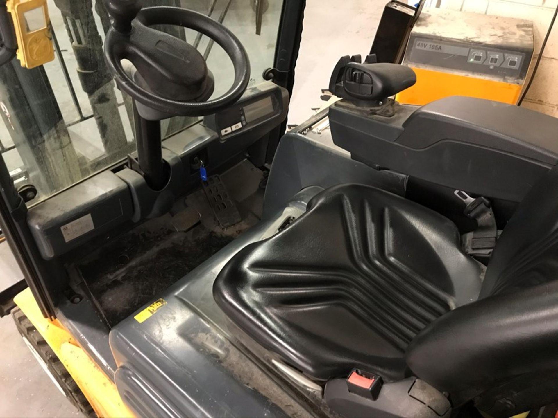 Jungheinrich model EFG318K battery driven forklift truck - Image 7 of 10