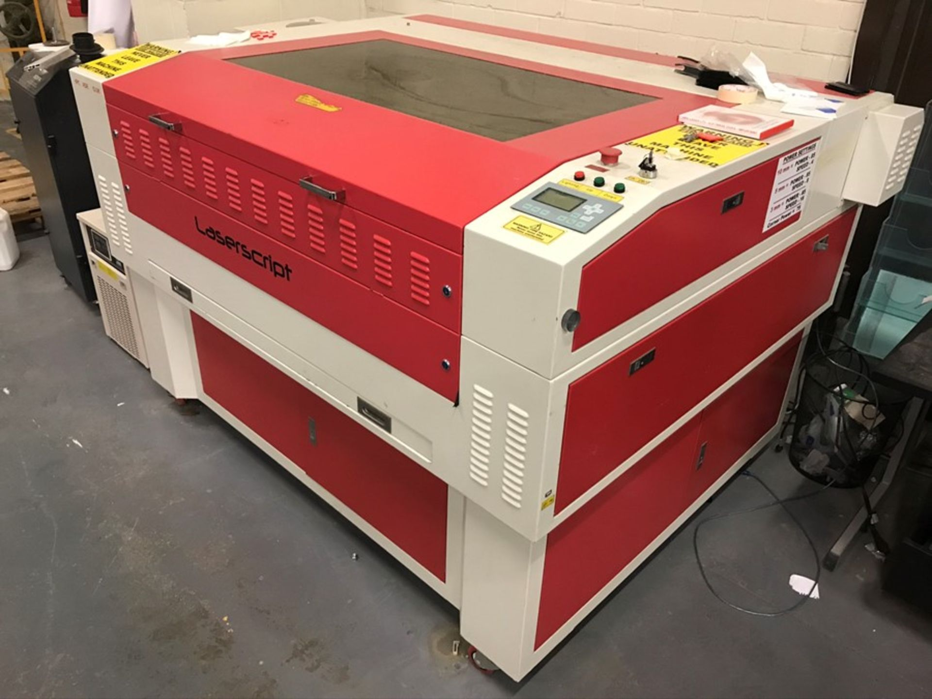 HPC Laser Ltd LS1290 Laserscript engraving machine - Image 9 of 18