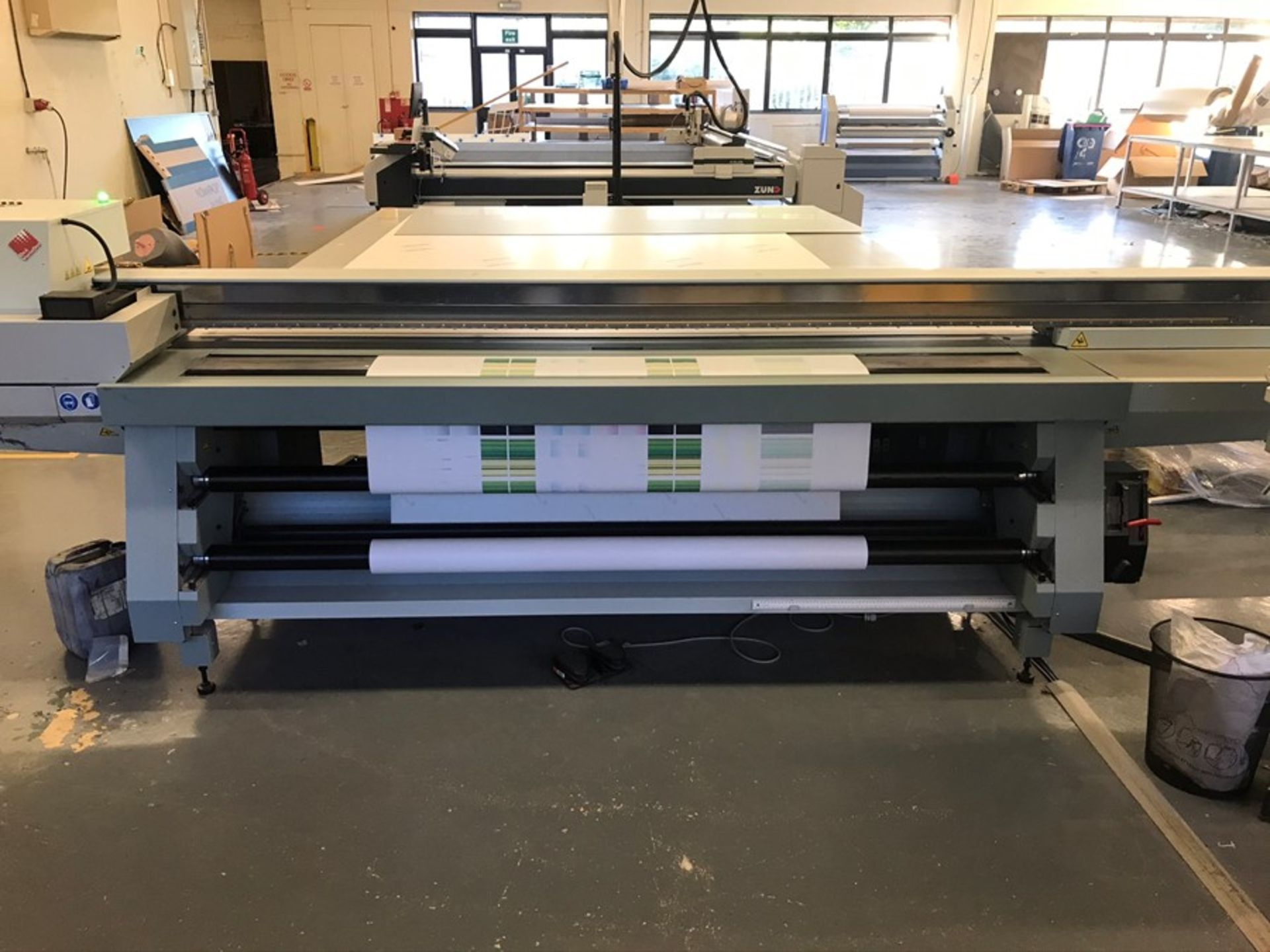 Oce Arizona 660 XT UV flatbed printer (2015) - Image 9 of 22