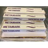 8 rolls of Metamark M4-358M-122 Sky Matt Vinyl