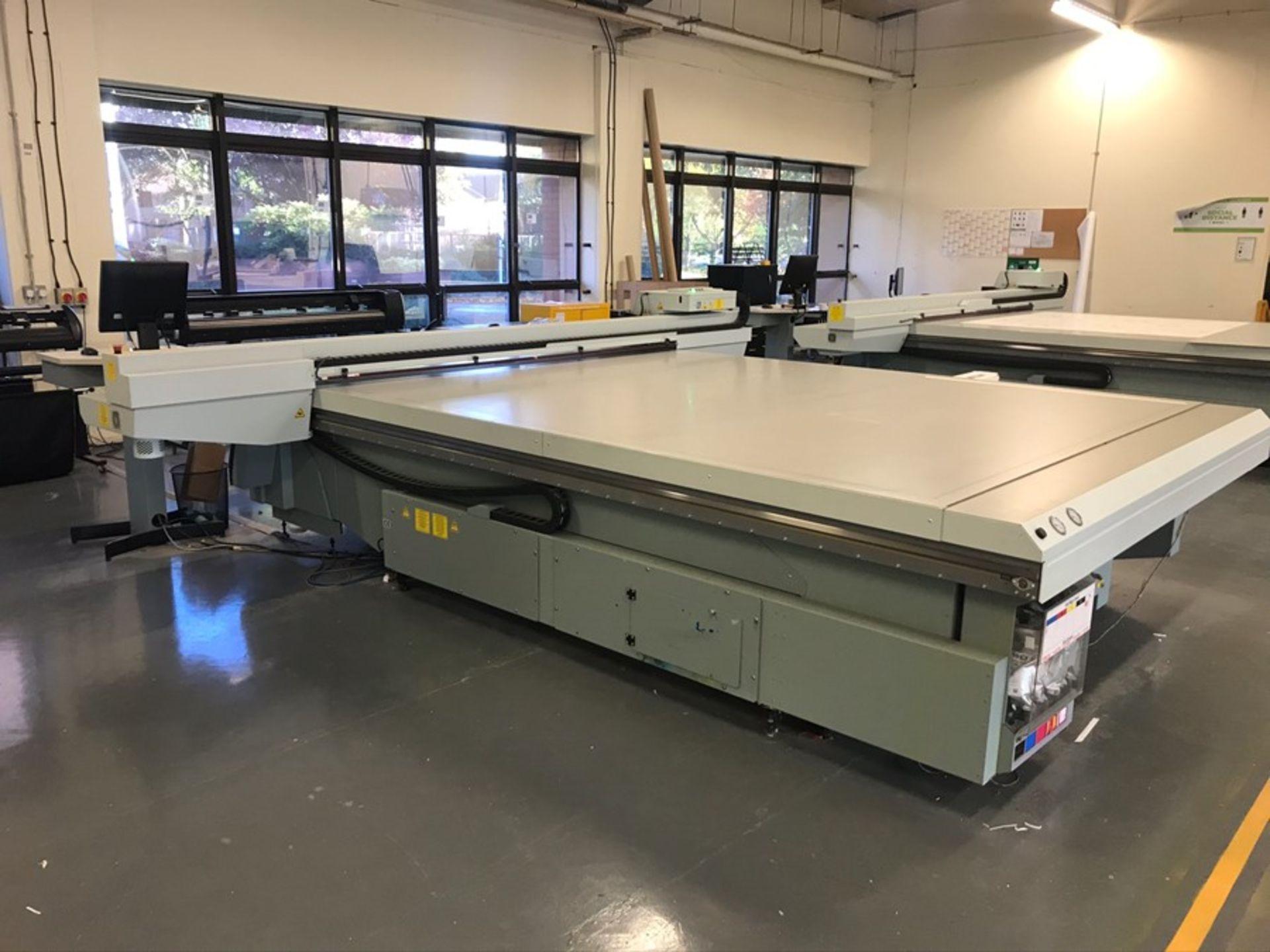 Oce Arizona 550XT + WIO UV flatbed printer (2013) - Image 4 of 22