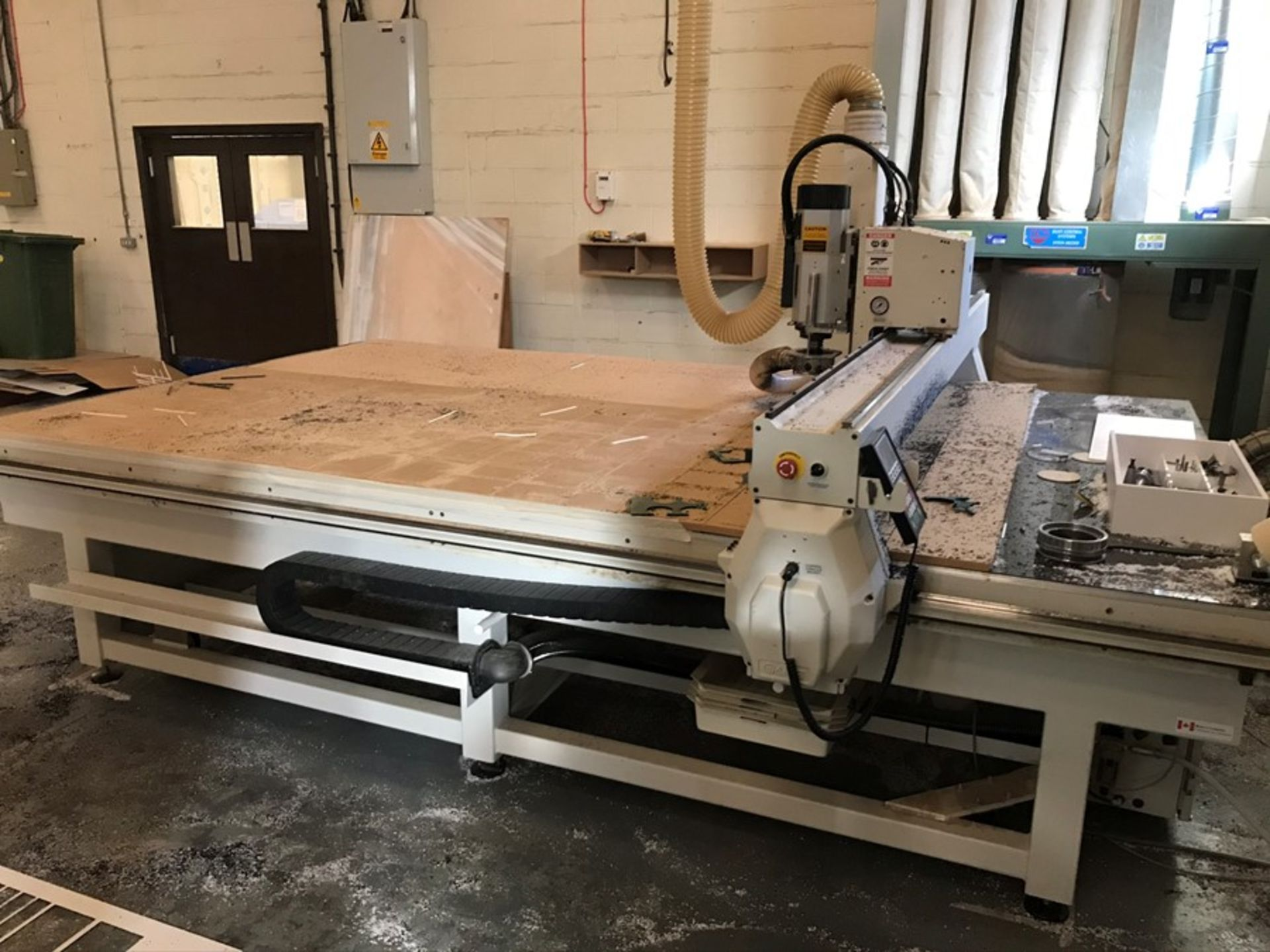 AXYZ 6010 ATC 7G CNC router (2015) - Image 12 of 20