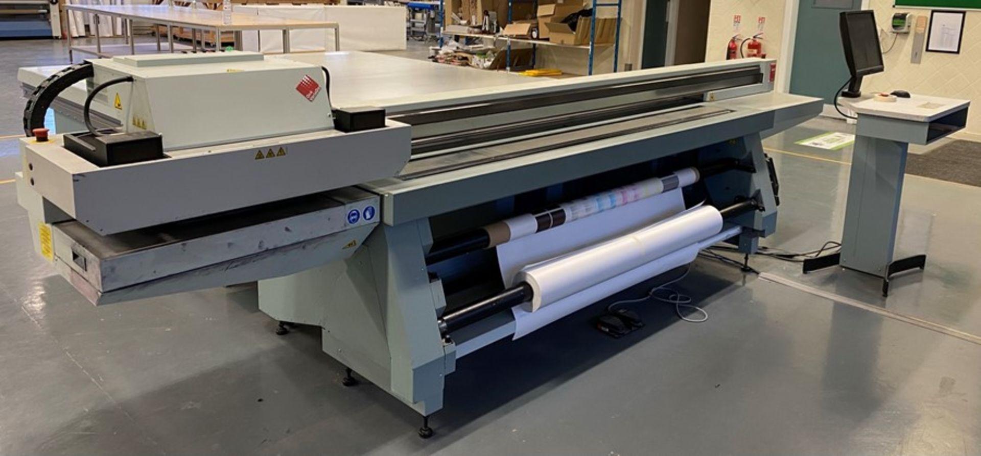 Oce Arizona 550XT + WIO UV flatbed printer (2013) - Image 20 of 22