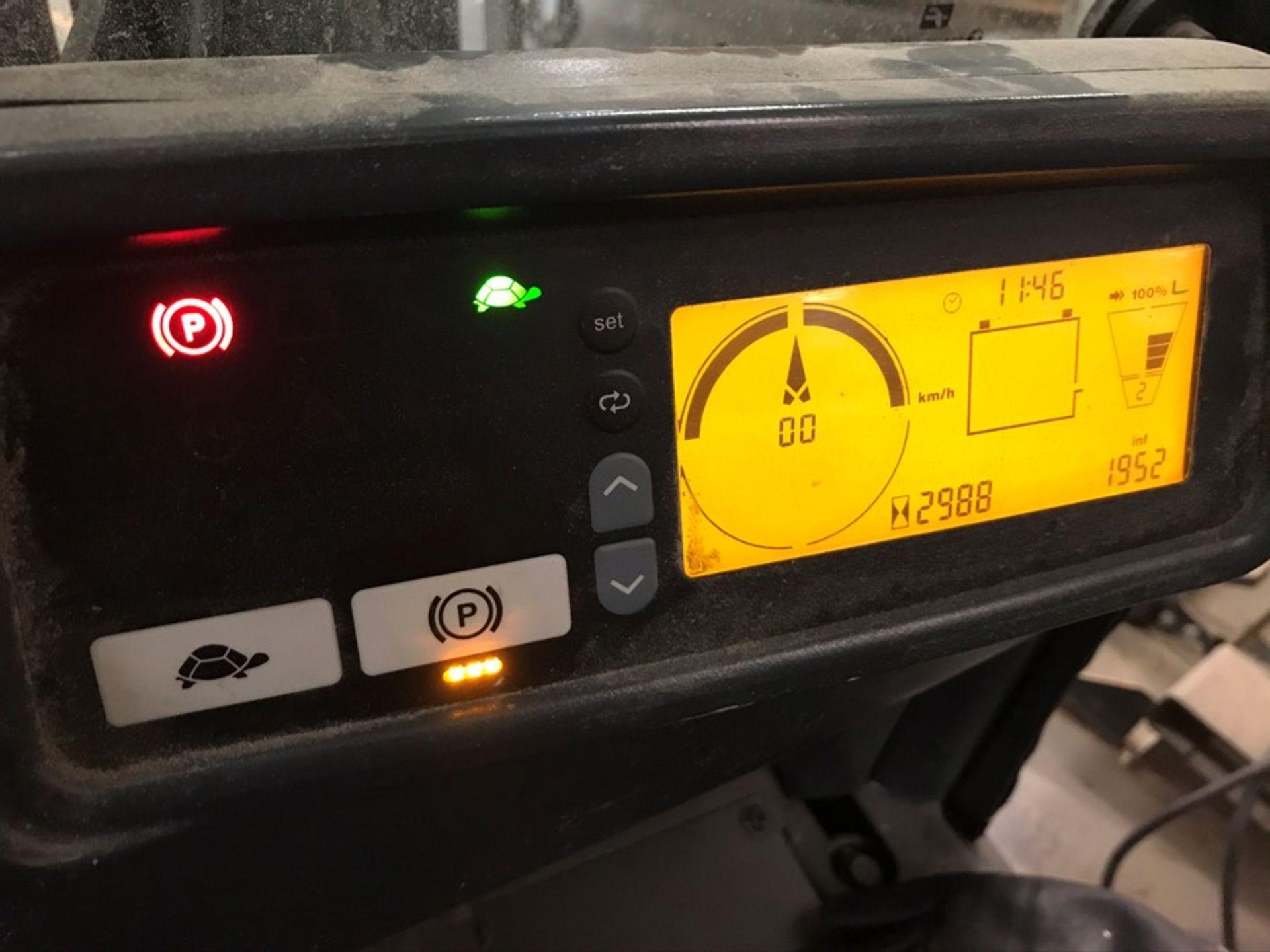 Jungheinrich model EFG318K battery driven forklift truck - Image 9 of 10
