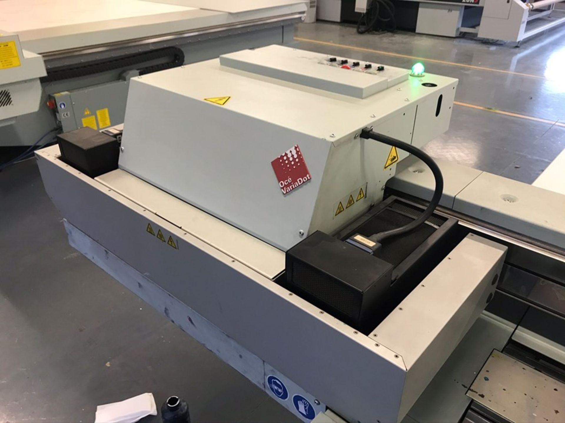 Oce Arizona 550XT + WIO UV flatbed printer (2013) - Image 10 of 22