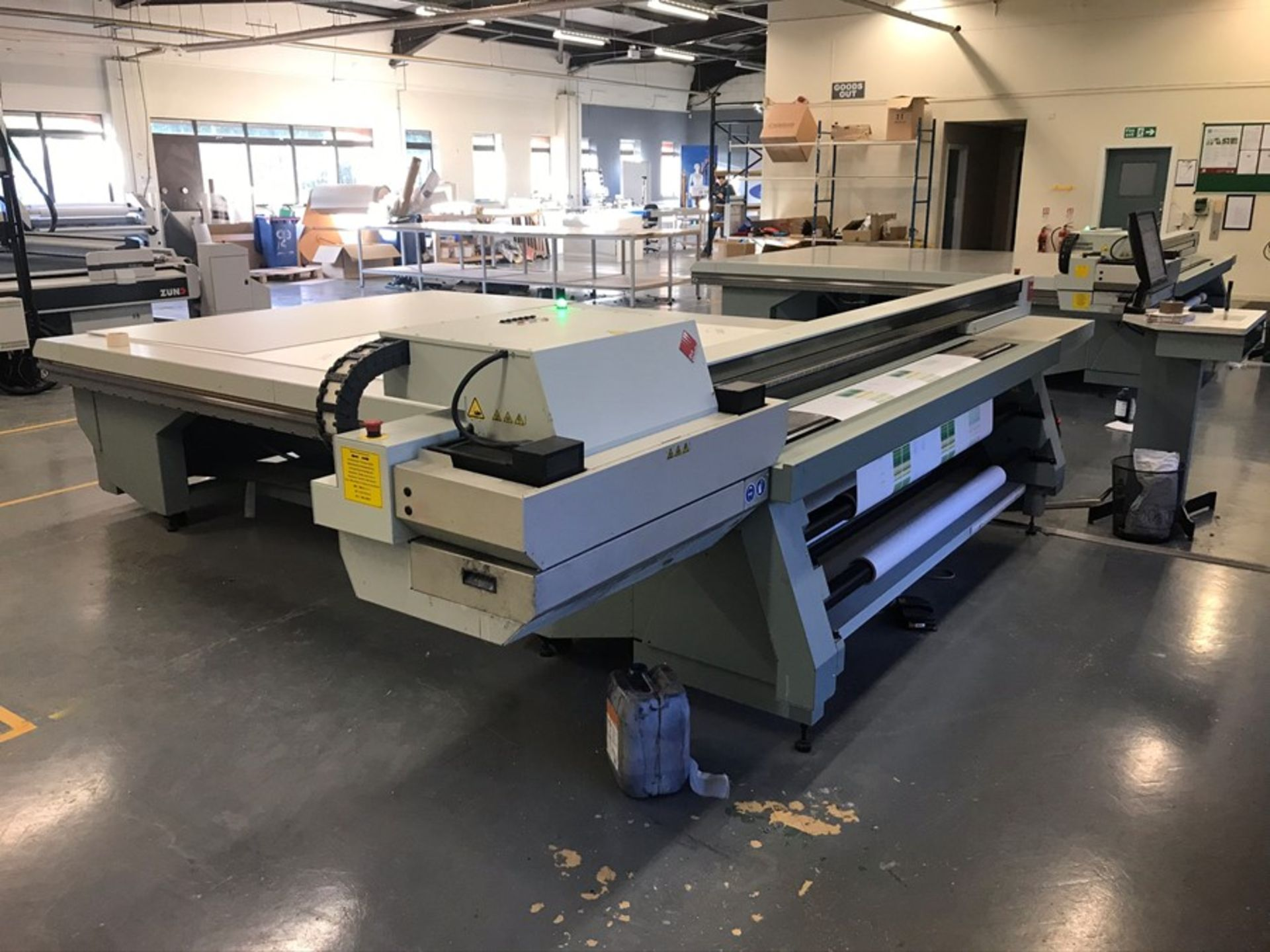 Oce Arizona 660 XT UV flatbed printer (2015) - Image 7 of 22
